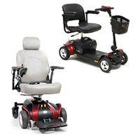 Cheat Sheet: Power Chair vs. Scooter
