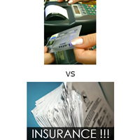 Insurance vs. Cash Know Your Options